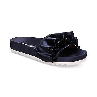 INC International Concepts Womens Abena Fabric Open Toe Casual Slide Sandals