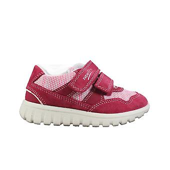 Superfit 09197-50 Red Girls Rip Tape Casual Trainer Shoes