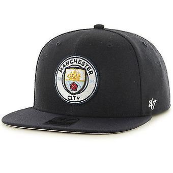 Manchester City FC Unisex Dorośli 47 Bez Strzału Kapitan Cap