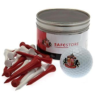Sunderland AFC Ball And Tee Set