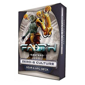 Tiantang Zero G kultúra Gear & NPC fedélzet FAITH a sci-fi RPG második kiadás