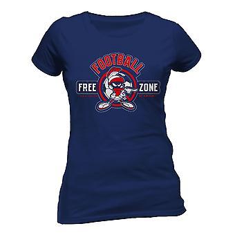 Looney Tunes Womens/Ladies Anti-Football Design T-Shirt
