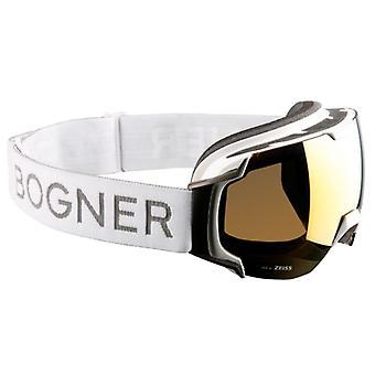 ボグナー ジャスト-B ゴールド ホワイト ルテニウム