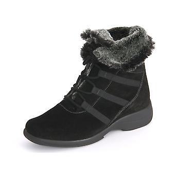 Solidus Mary 155 Black Sportvelour Fell 5815500624 universal winter women shoes