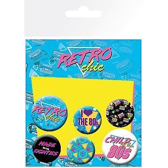 Child of the 80's Assorted Badge Pack