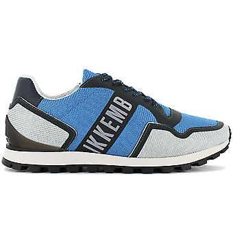 Bikkembergs Fend-er 2084 BKE109287 Men's Shoes Blue Sneakers Sports Shoes