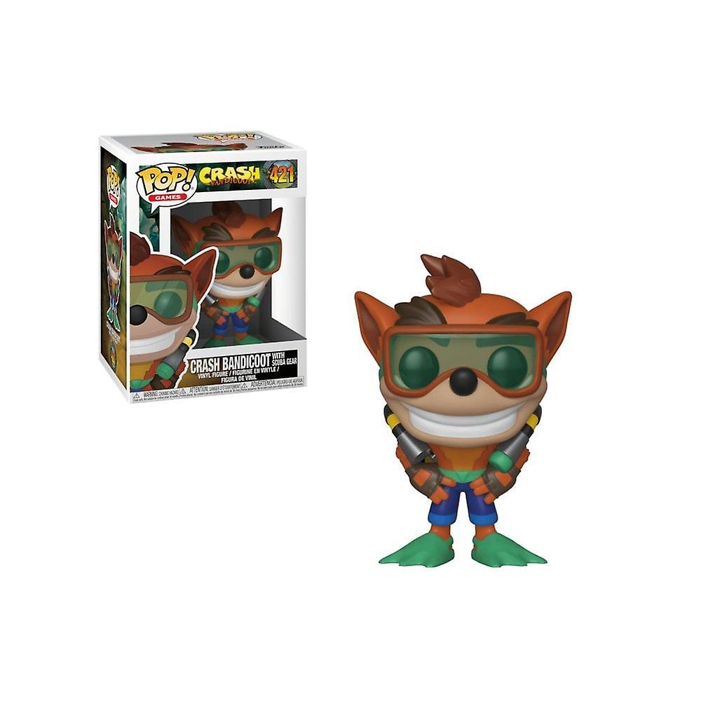 Crash Bandicoot Scuba Crash POP! Vinyl