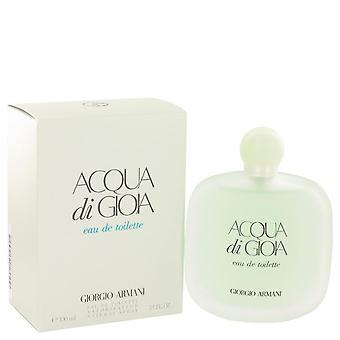 Acqua Di Gioia Eau De Toilette Spray By Giorgio Armani   514642 100 ml