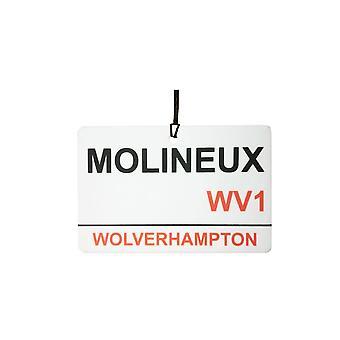 Wolverhampton / Molineux Street Sign Car Air Freshener
