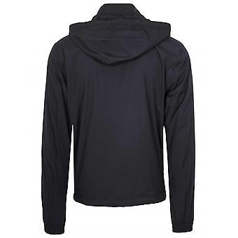 Z Zegna Z Zegna Navy Hooded Windbreaker Jacket