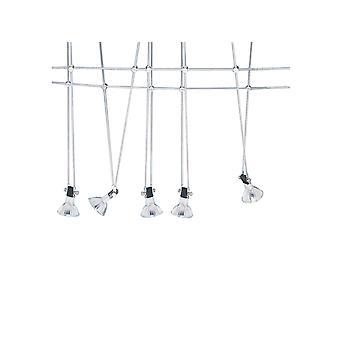 5 Light Plafon Cablu Kit Fixture cu spoturi reglabile - Searchlight 1744