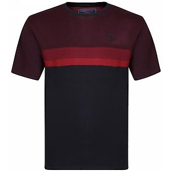 KAM Kam Fashion Dobby Weave T-Shirt