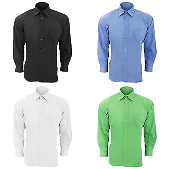 SOLS Mens Baltimore Long Sleeve Poplin Work Shirt