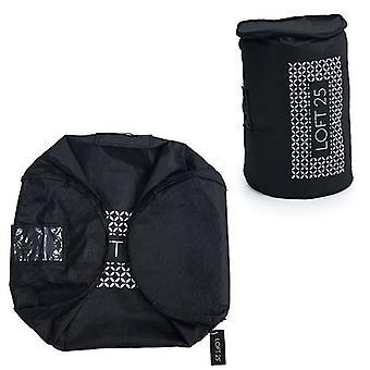 Essentials von Loft 25 kleine schwarze Bettdecke Schutztasche