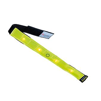 WOWOW Reflective Cycling Running Smart Bar LED Light, Amarelo