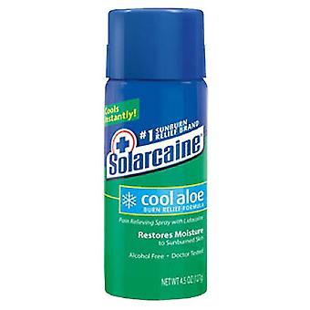 Solarcaine cool aloe burn relief formula pain relieving spray, 4.5 oz