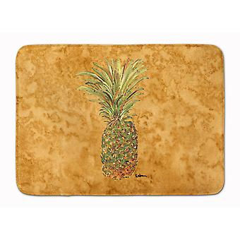 Carolines Treasures  8654RUG Pineapple Machine Washable Memory Foam Mat