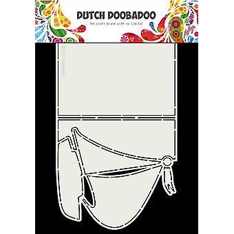 Dutch Doobadoo Card Art A4 Sailboat 470.713.764
