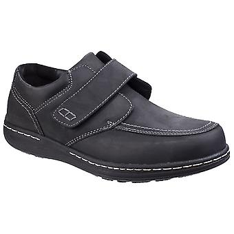 Hush Puppies Mens Vindo Victory Leather Slip On Formal Loafer Shoes