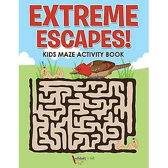 Extreme Escapes Kids Maze Activity Book de for Kids & Activibooks