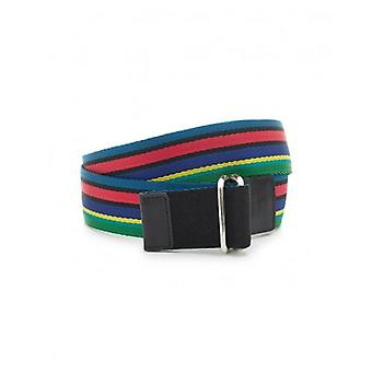 Paul Smith Accessories Reversible Mesh Striped Belt