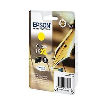 Alkuperäinen mustekasetti Epson DURABRITE T16XL keltainen