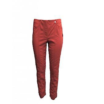 ROBELL Robell Red Trouser Bella 52642 54554 41