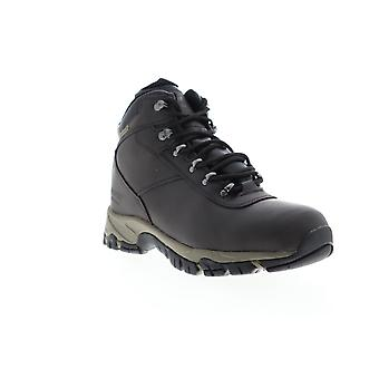 Hi-Tec Venture Waterproof  Mens Brown Leather Lace Up Hiking Boots