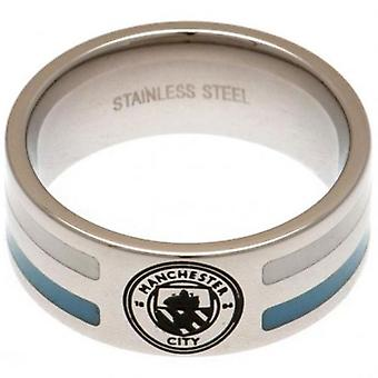 Manchester City Colour Stripe Ring Small