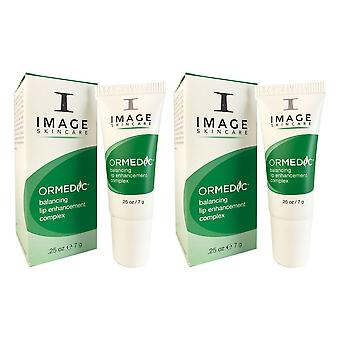 Image ormedic balance lip enhancement complex .25 oz duo pack