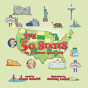 The 50 States - By a Seven-Year-Old by Rocco Ramtri - 9781788301688 B