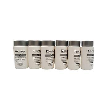 Kerastase Bain Gommage Travel Size Shampoo Dry Hair 1 OZ  Set of 6