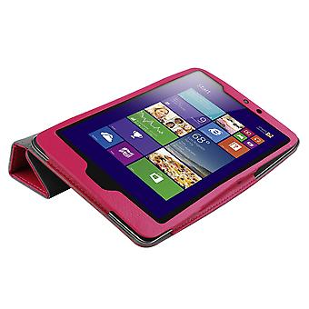 Magnetic PU Leather Case Cover for Lenovo IdeaTab Miix 2 8