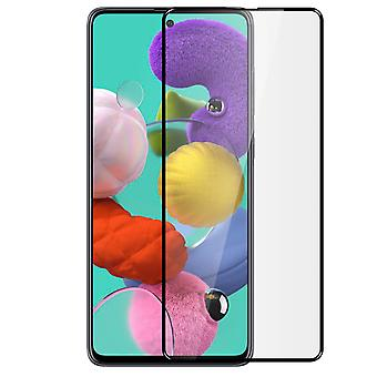 Screen protector Galaxy A51 Tempered Glass 9H Shockproof Beveled Imak Black