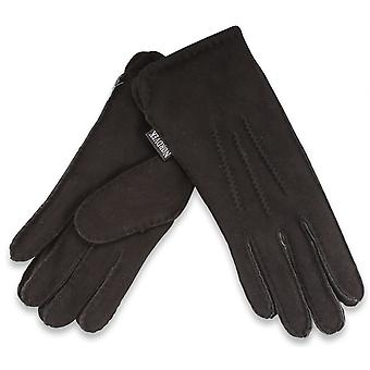 Nordvek Mens Premium Thick 100% Genuine Sheepskin Gloves Gents 306-100