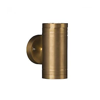 Elite2 Wall Lamp, Brass, Led