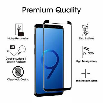 2 Pack Samsung Galaxy S9 - Bubble Free Tempered Glass Screen Protector