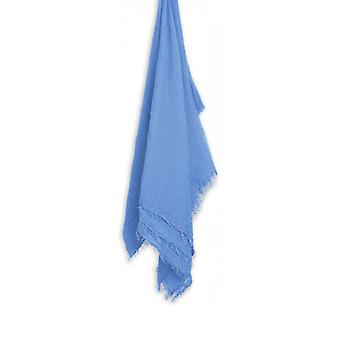 Sandwich Clothing Blue Crinkle Effect Scarf