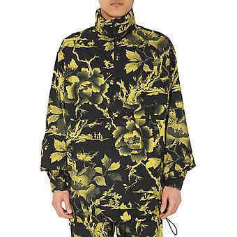 Mcq Door Alexander Mcqueen 576872roq191000 Men's Geel/zwart Nylon Bovenkleding Jas