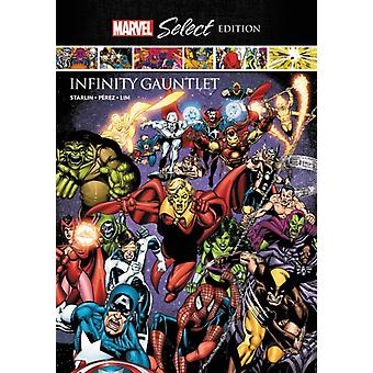 Infinity Gauntlet Marvel Select Edition by Jim Starlin & Illustrated by George Perez