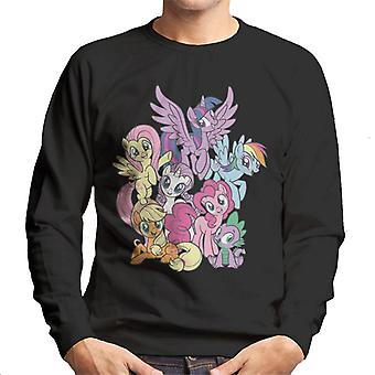 My Little Pony Spike And The Squad Men's Sweatshirt