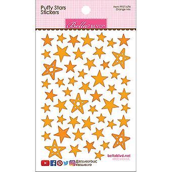 Bella BLVD Oranssi Mix Puffy Stars Tarrat