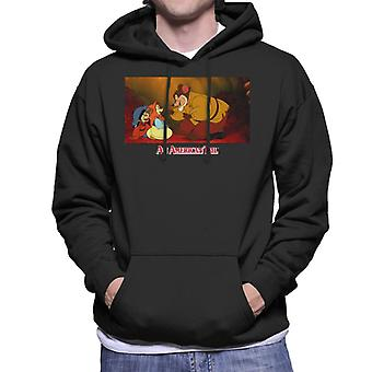 An American Tail Papa Talking To Tanya Men's Hooded Sweatshirt