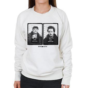 Home Alone Harry & Marv Mugshot Women's Sweatshirt