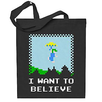Retro Believer Lemmings Totebag