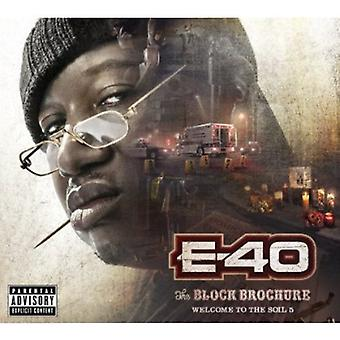 E-40 - E-40: Vol. 5-Block Brochure: Welcome to the Soil [CD] USA import