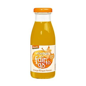Orange Mango and Passion Fruit Juice Bio 250 ml
