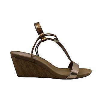 Style & Co. Women's Shoes Leather Open Toe SlingBack Wedge Pumps