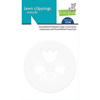 Lawn Fawn Reveal Wheel Templates: Tulipe