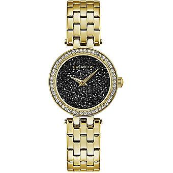 Caravelle Watch 44L243 - Plated Stainless Steel Ladies Quartz Analogue